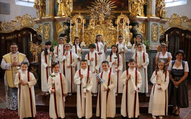 Erstkommunion In Heiligenstatt